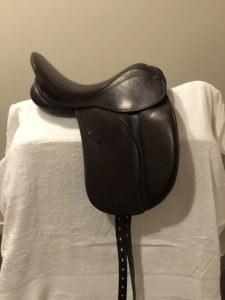 County Perfection Saddle - Dark Brown