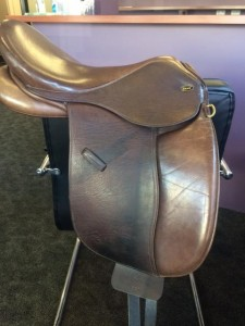 Beautiful Ascot Pony Saddle (Brown)