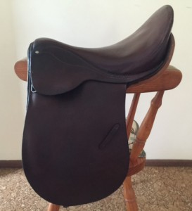Childs 13inch Brown Show Saddle