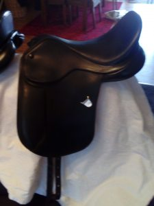 Bates Pony Show Saddle - 15 inch