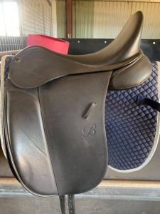 Bates Show Saddle - New Condition