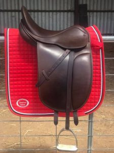 County Turnout Saddle - 16.1/2 Inch