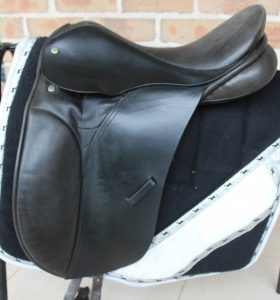 Black English Show Saddle