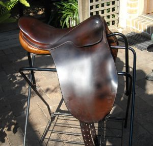 2 Immaculate Don Stuart Saddles