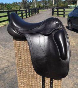 "Havana Brown 16.5"" Black County Saddle"
