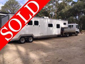 SOLD!! - Unicorn luxury living Truck & Gooseneck