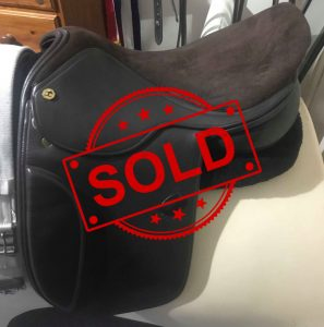 SOLD! - English Show Saddle