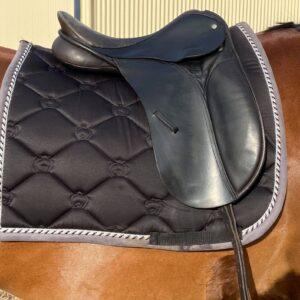 Black 15inch Show Saddle